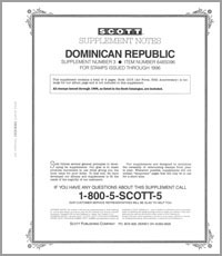 DOMINICAN REPUBLIC 1996 (5 PAGES) #3