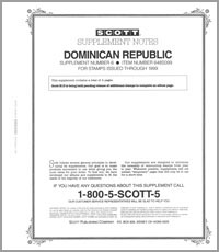 DOMINICAN REPUBLIC 1999 (5 PAGES) #6