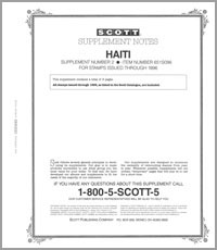 HAITI 1996 (4 PAGES) #2