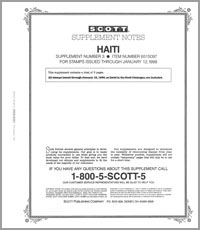 HAITI 1997 (4 PAGES) #3