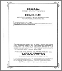 HONDURAS 1995 (6 PAGES) #1