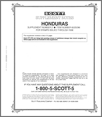 HONDURAS 1996 (3 PAGES) #2