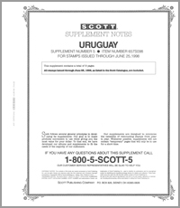 URUGUAY 1998 (10 PAGES) #5