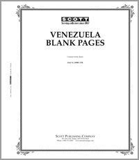 BLANK PAGES: VENEZUELA (20 PAGES)