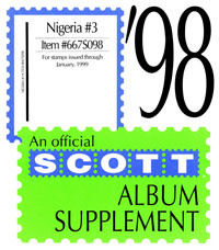NIGERIA 1997-1998 (3 PAGES) #3