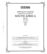 SOUTH AFRICA 1910-1995 (98 PAGES)
