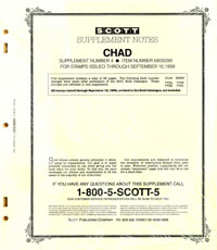 CHAD 1999 (33 PAGES) #4