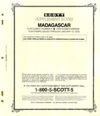 MADAGASCAR 1999 (30 PAGES) #6