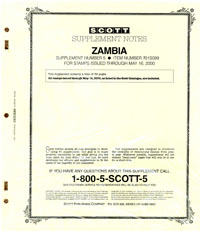 ZAMBIA 1999 (35 PAGES) #5