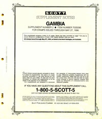 GAMBIA 1995 (41 PAGES) #2