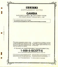 GAMBIA 1996 (64 PAGES) #3