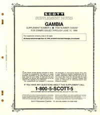 GAMBIA 1997 (44 PAGES) #4