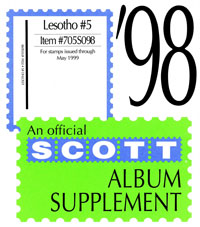 LESOTHO 1998 (17 PAGES) #5