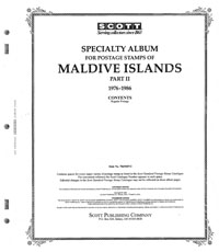 MALDIVE ISLANDS 1976-1986 (100 PAGES)