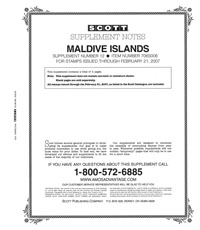 MALDIVE ISLANDS 2005-2006 (6 PAGES) #12