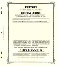 SIERRA LEONE 1997 (42 PAGES) #4