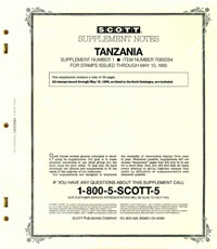 TANZANIA 1994 (40 PAGES) #1