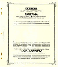 TANZANIA 1995 (46 PAGES) #2
