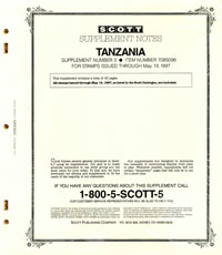 TANZANIA 1996 (44 PAGES) #3