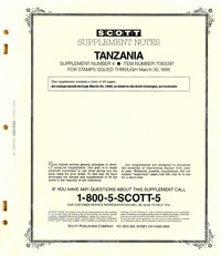 TANZANIA 1997 (44 PAGES) #4