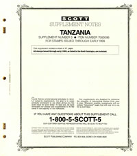 TANZANIA 1998 (68 PAGES) #5