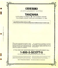 TANZANIA 1999 (72 PAGES) #6