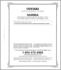 NAMIBIA 2001 (3 PAGES) #6