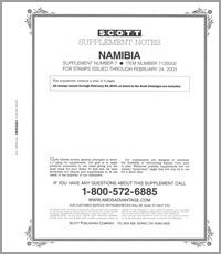 NAMIBIA 2002 (10 PAGES) #7