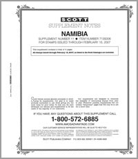 NAMIBIA 2006 (5 PAGES) #11