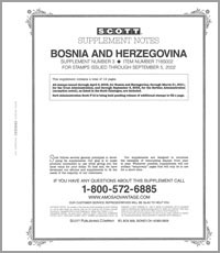 BOSNIA & HERZEGOVINA 2002 (13 PAGES) #3