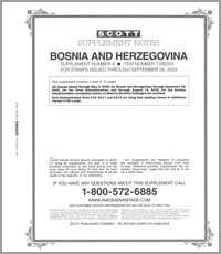BOSNIA & HERZEGOVINA 2003 (13 PAGES) #4