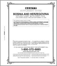 BOSNIA & HERZEGOVINA 2006 (15 PAGES) #7