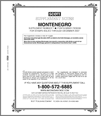 MONTENEGRO 2008 (10 PAGES) #1