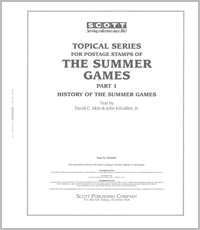 OLYMPIC SUMMER GAMES TOPICAL HISTORY (98 PAGES)