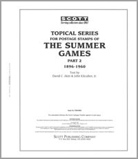 OLYMPIC SUMMER GAMES TOPICAL 1896-1960 (113 PAGES)
