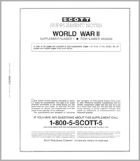WORLD WAR II TOPICAL SUPPLEMENT #1 (30 PAGES)