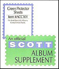 GREEN PROTECTOR SHEETS FOR 2-SQUARE POST SPECIALTY BINDER
