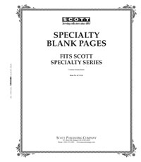 Scott Specialty Blank Pages