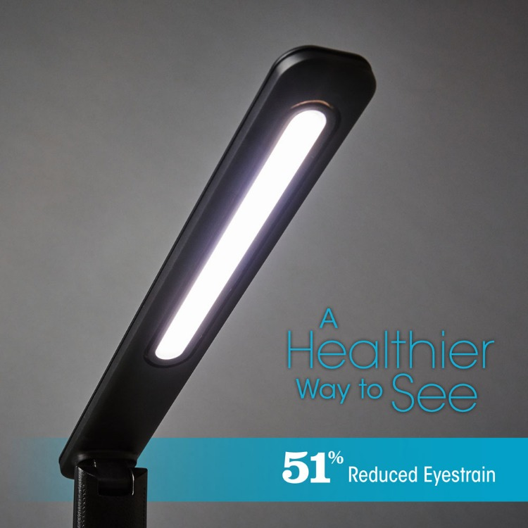OttLite Renew LED Desk Lamp - Black