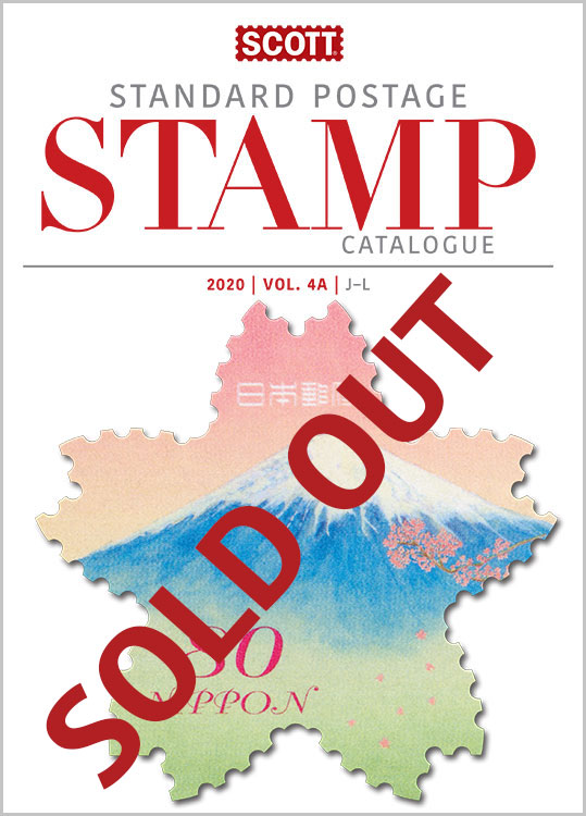 2020 Scott Standard Postage Stamp Catalogue - Volume 4 (J-M)