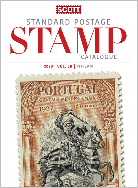 2020 Scott Standard Postage Stamp Catalogue - Volume 5 (N-Sam)