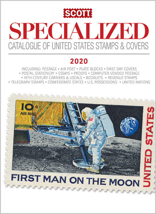 2020 Scott Specialized Catalogue Of United States Stamps And Covers