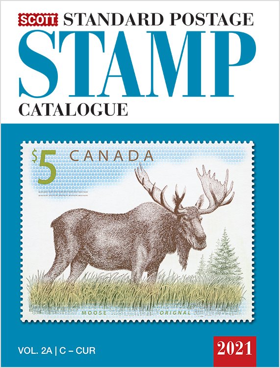 2021 Scott Standard Postage Stamp Catalogue - Volume 2 (C-F)
