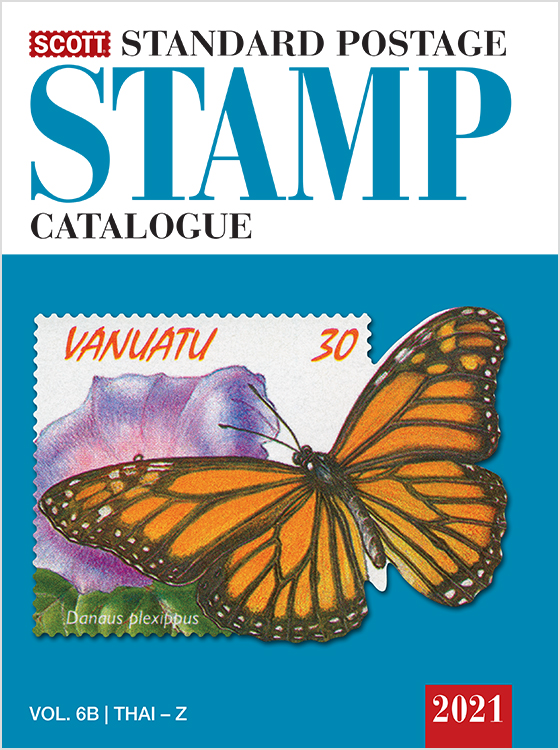 2021 Scott Standard Postage Stamp Catalogue - Volume 6 (San-Z)