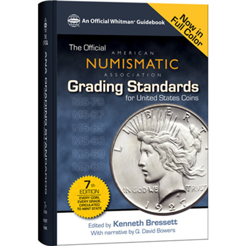 OFFICIAL ANA GRADING STANDARDS FOR THE UNITED STATES (7TH ED.)(SPIRAL)