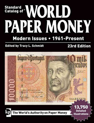 STANDARD CATALOGUE OF WORLD PAPER MONEY MODERN ISSUES (23RD ED)