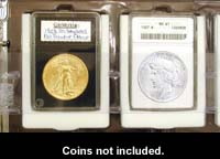 ANACS ADAPTORS FOR CERTIFIED COIN ALBUM