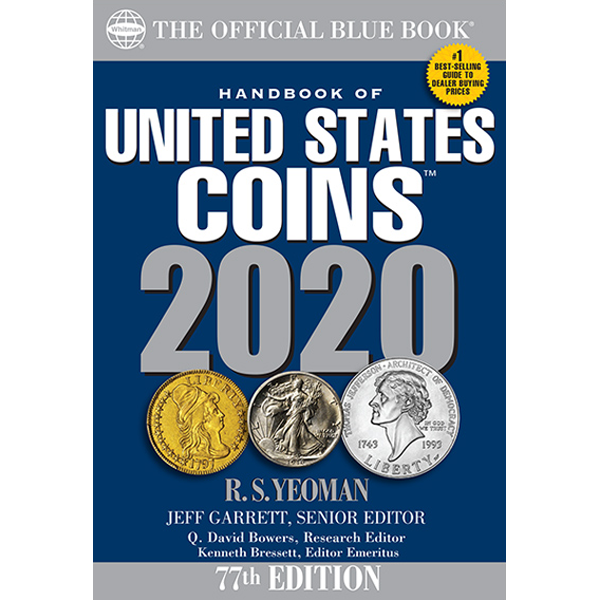 The Official Blue Book of US Coins 2020
