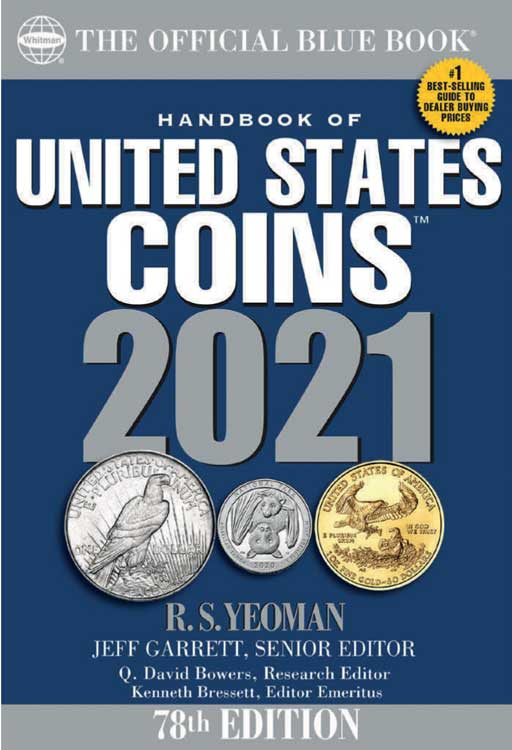 The Official Blue Book of US Coins 2021