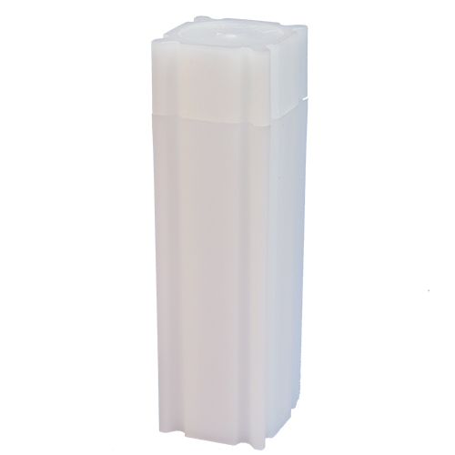 CoinSafe Square Coin Tube - Nickel / 21mm (Box of 100)